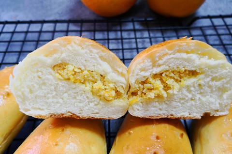 橙子奶酥包