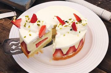 经典法式草莓蛋糕