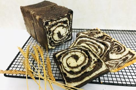 纹理吐司面包
