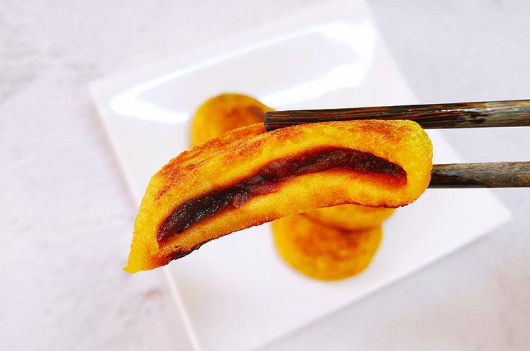 豆沙南瓜卷&豆沙南瓜饼