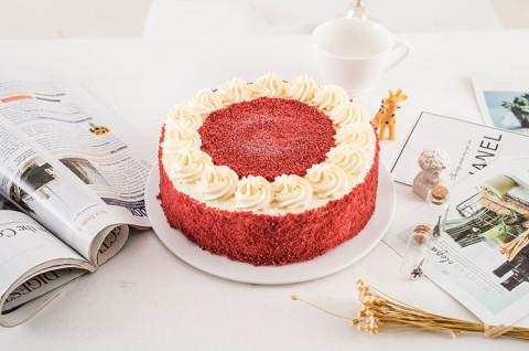 经典红丝绒蛋糕