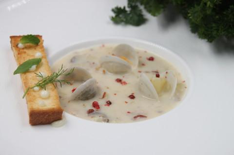 奶油蛤蜊巧达汤