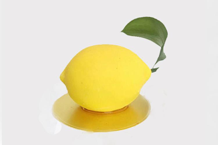 仿真柠檬慕斯