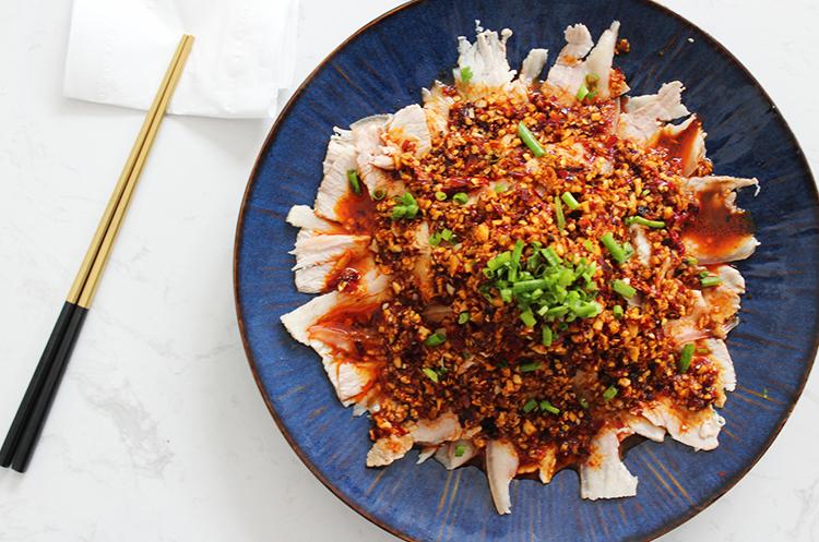 川系菜—蒜泥白肉