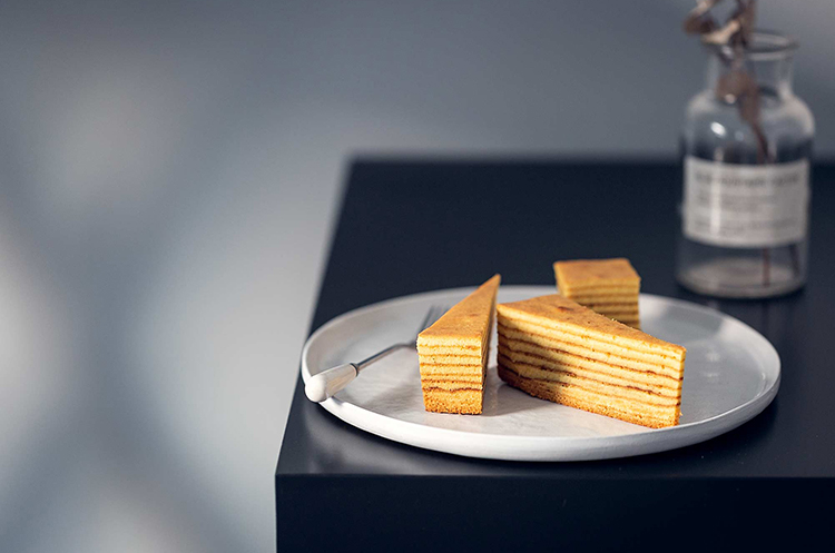 香草千层蛋糕