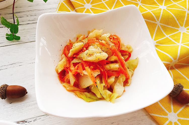 古早味卷心菜意面&黑椒黄油卷心菜