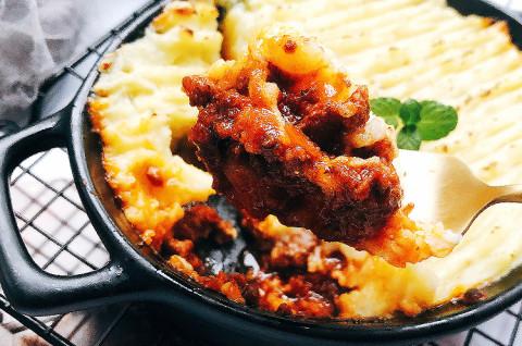 牧羊人派&薯片鸡米花