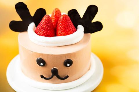 圣诞小麋鹿蛋糕