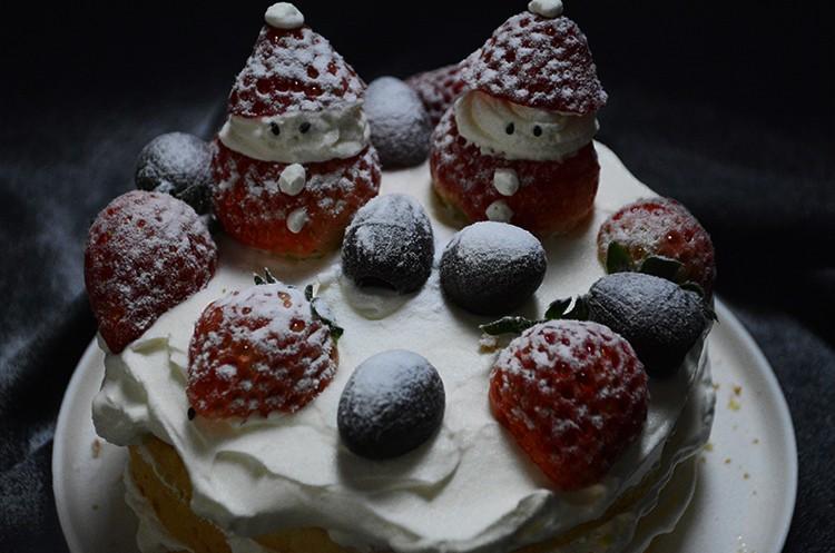 圣诞软萌裸蛋糕