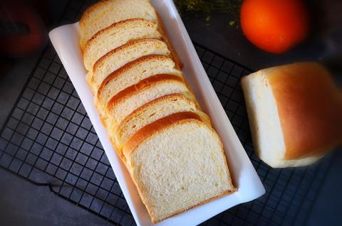 超软橙皮奶酥土司