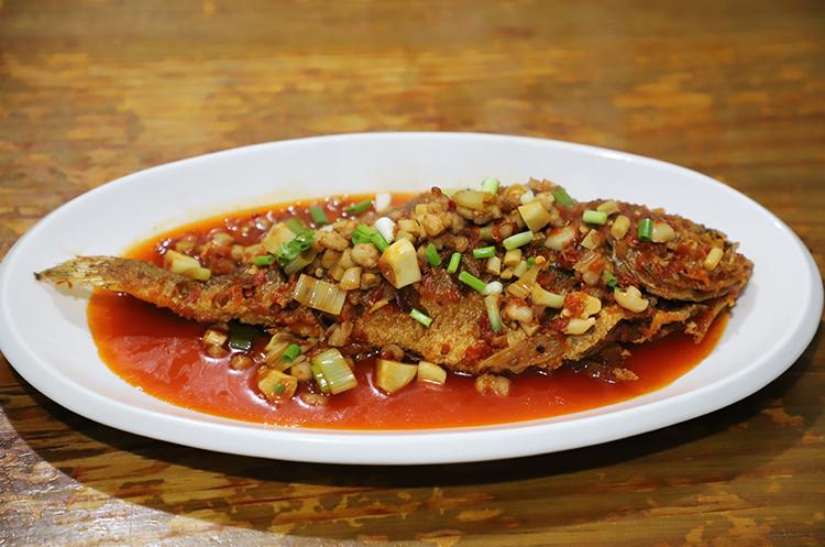 【家常菜】干烧黄鱼