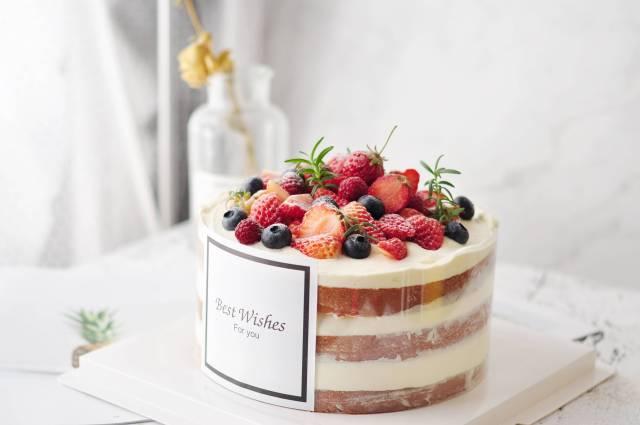 ins风裸蛋糕
