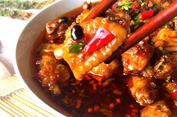 剁椒豆豉鸡翅