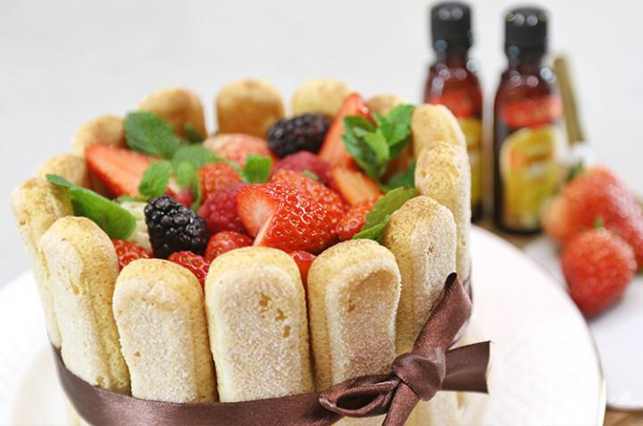 免烤箱莓果提拉米苏
