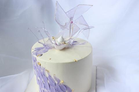 新款裱花蛋糕(一)艾素糖冰淇淋蛋糕