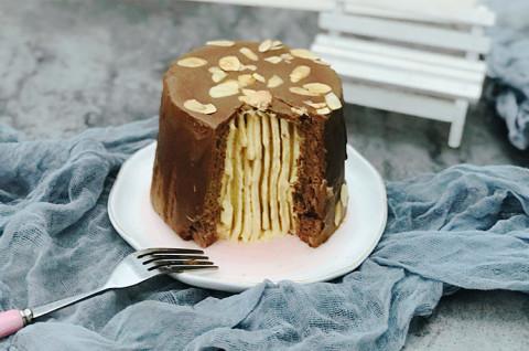 梦龙脆皮冰淇淋蛋糕