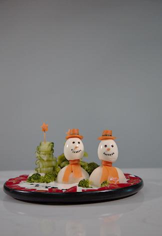 圣诞雪景拼盘